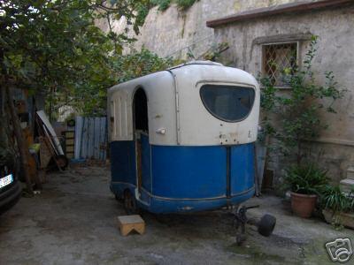 caravane télescopique laika 500 pour fat 500 fiat 600 et multipla